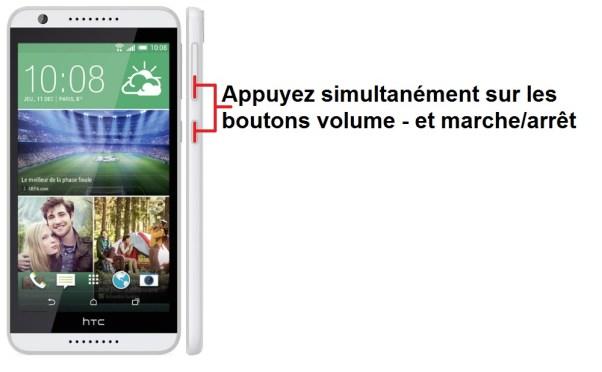 HTC desire 820 screenshot