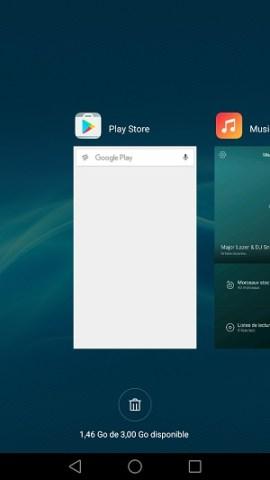 Trucs astuces Huawei Honor 7-appli-recente