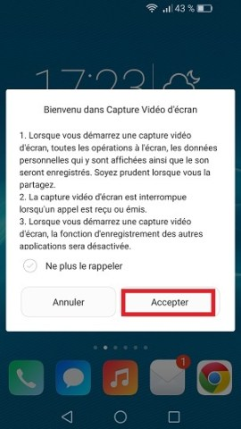 Trucs astuces Huawei Honor 7-video-ecran