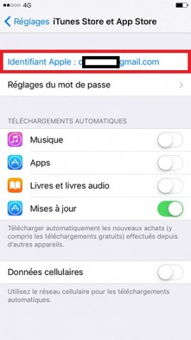 Compte apple identifiant apple