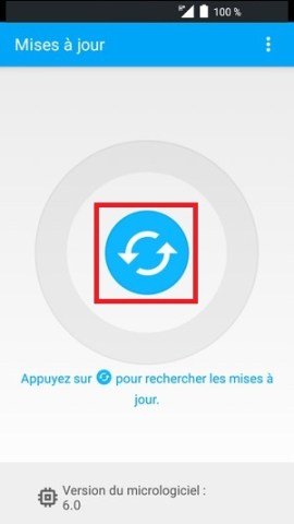 Mise à jour Alcatel android 6.0