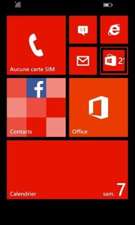 Transférer ses données Lumia store