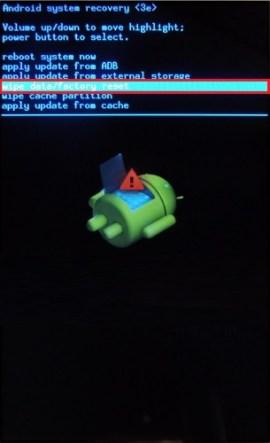 Wiko 5.1 hard reset