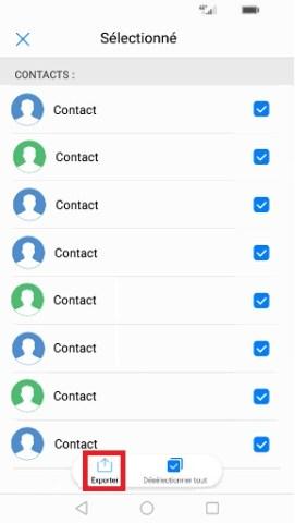 contact code pin ecran verrouillage Huawei (android 7.0) carte SIM