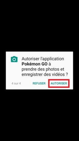 application Samsung android 7 nougat autoriser
