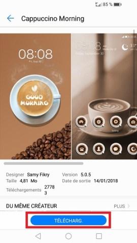 Personnaliser Huawei