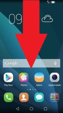 MMS Huawei données mobiles