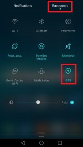 autonomie Huawei GPS