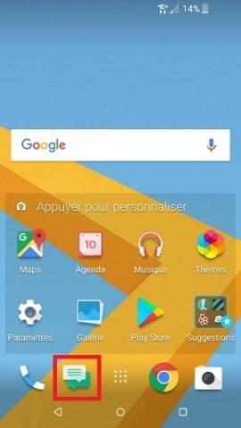 SMS HTC android 7 conversation supprimé