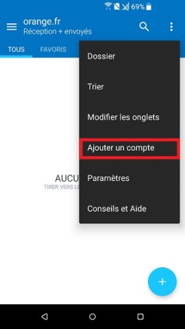 email HTC android 7 nougat ajouter autre compte mail
