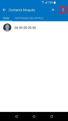 SMS HTC android 7contact débloqué