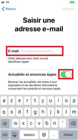Compte apple