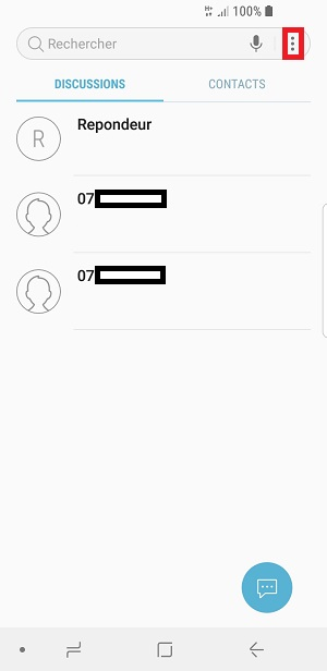SMS Samsung Galaxy S9 : envoi réception dépannage • mobidocs