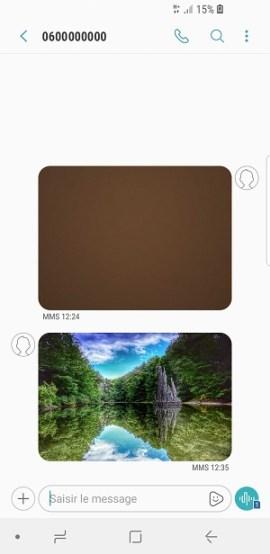 MMS Samsung Galaxy S9 (envoyer, ouvrir, dépannage) • mobidocs