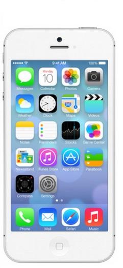 allumer iPhone 5C