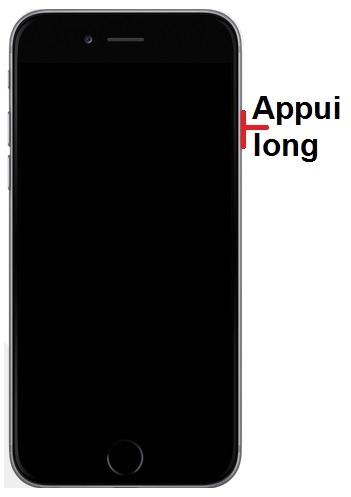 allumer iPhone 7