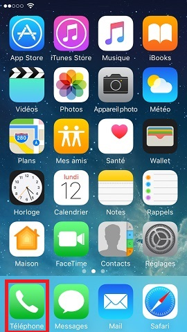 Iphone IOS 10 réglages