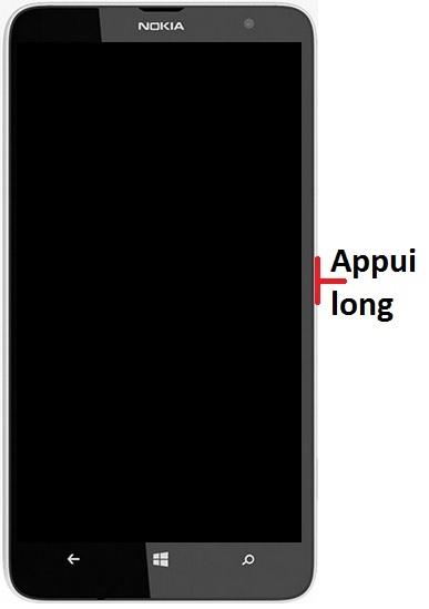 Allumer Lumia 1320