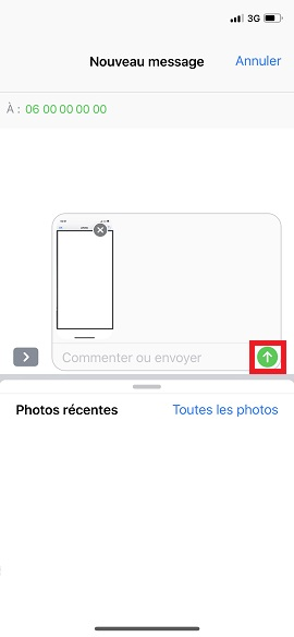 MMS iPhone Z