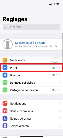 internet iPhone 8 Wifi