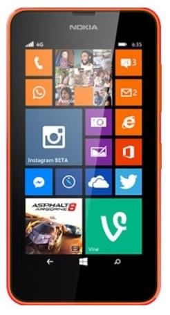 Allumer Lumia 635