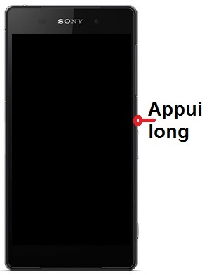 éteindre Sony Xperia Z2