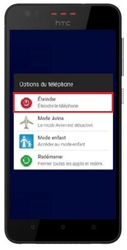 allumage HTC Desire 825