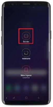 éteindre Samsung S9