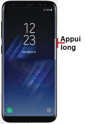 éteindre Samsung S8