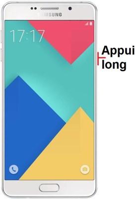 éteindre Samsung A7