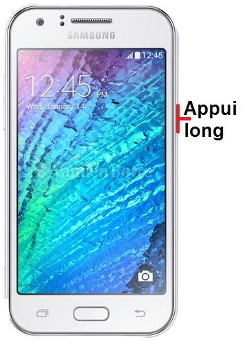 éteindre Samsung J1