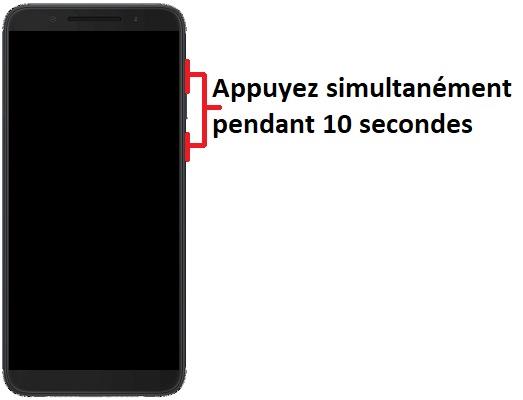 Allumer Alcatel 3