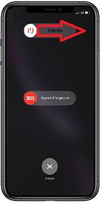 éteindre iPhone 11