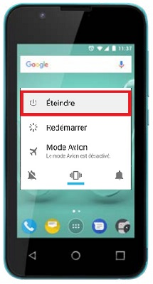 éteindre Wiko Sunny 2
