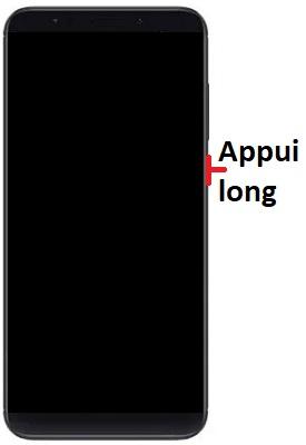 allumage Xiaomi Redmi Note 5