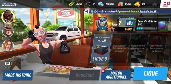meilleurs jeux mobiles Boxe