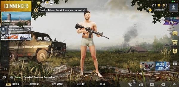 meilleurs jeux mobiles PUGB
