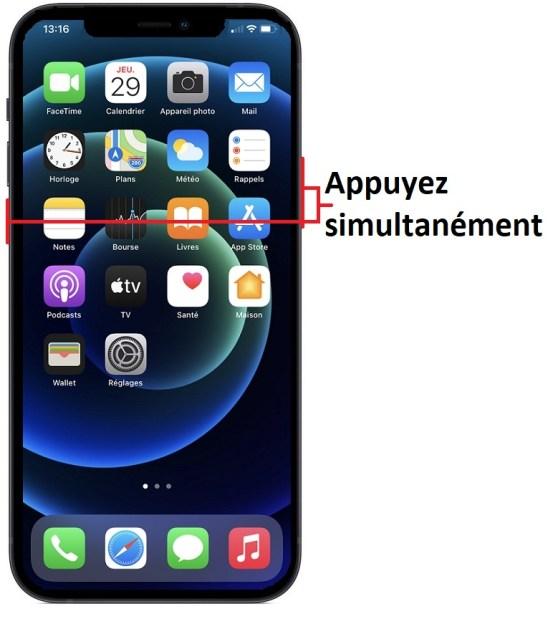 éteindre iPhone 12 Pro