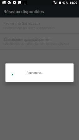 Réseaux Doro 8035