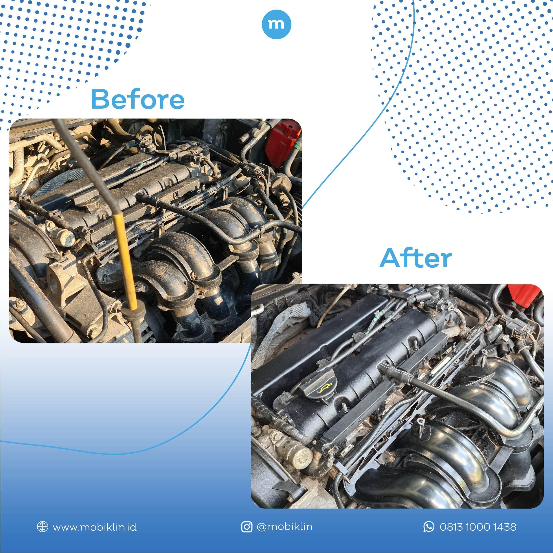Engine Detailing - Mobiklin - 2