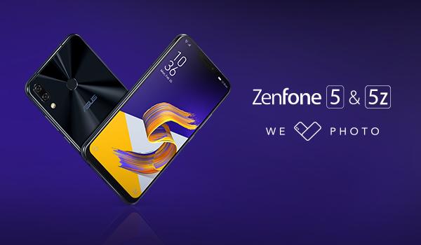 ASUS presenterar Zenfone 5 och 5Z