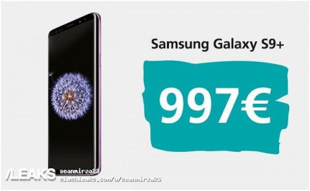 Evan Blass bekräftar priset på Galaxy S9 och S9+ – Samsung har höjt ribban rejält
