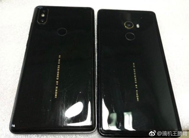 Ny bild visar att Xiaomi Mi Mix 2S har en inspirerad design från iPhone X