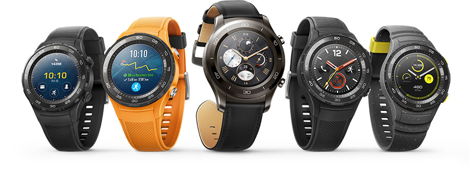 Testa Android P på Huawei Watch 2