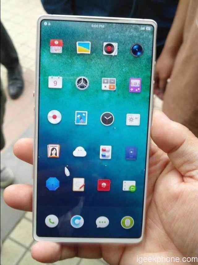 Smartisan R1 kommer bli första telefonen i världen med 100% display-yta