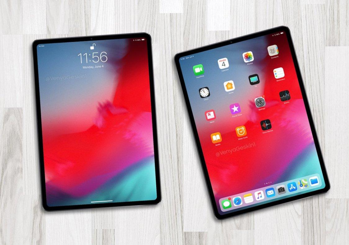 Såhär kan höstens iPad se ut