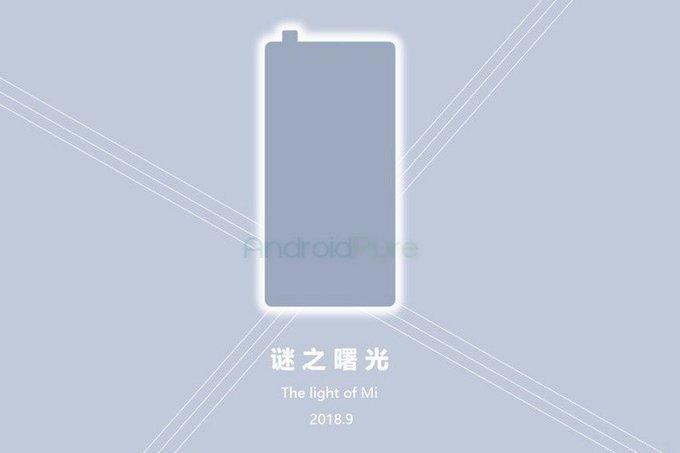 Xiaomi Mi Mix 3 dyker upp i vitt