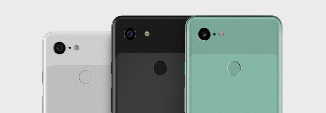Google Pixel 3 kan bli tillgänglig i grönt