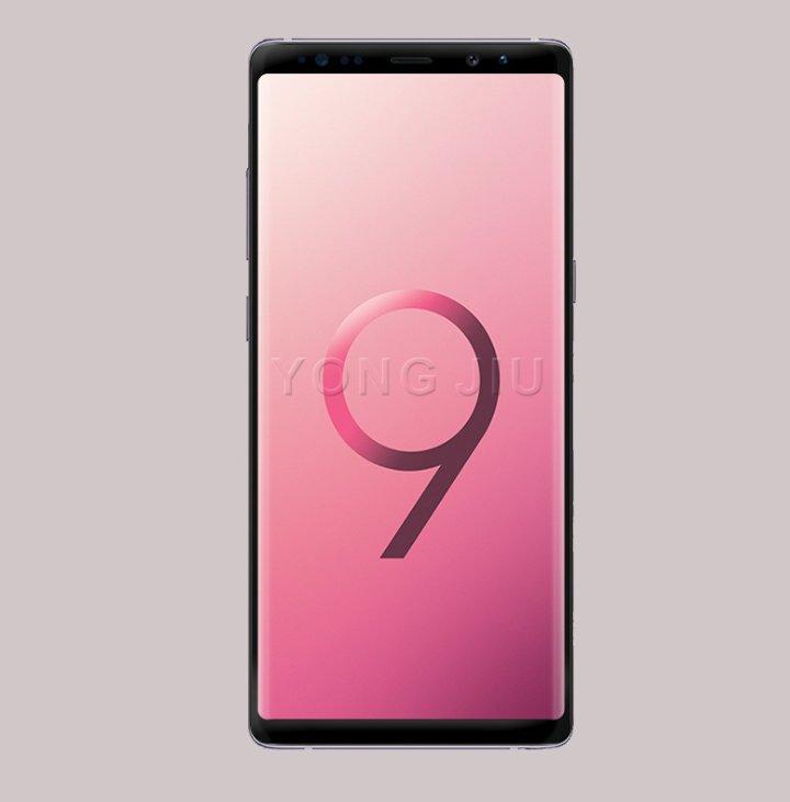 Kan de här vara framsidan på Samsung Galaxy Note 9?
