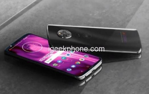 Konceptbilder på Motorola Moto G7, kan stödja 5G